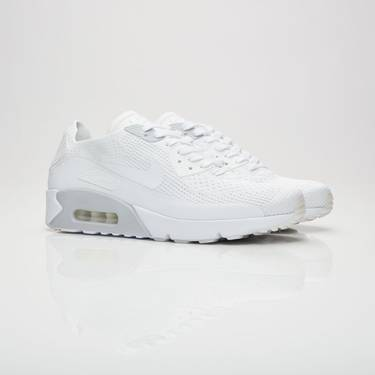 brand new 03ff4 7e195 Air Max 90 Ultra 2.0 Flyknit 'Triple White'