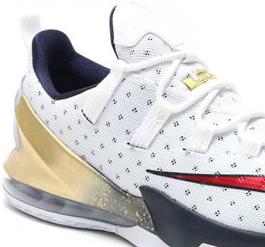 quality design 4bbb4 85d31 LeBron 13 Low EP 'Olympics' - Nike - 831926 164   GOAT