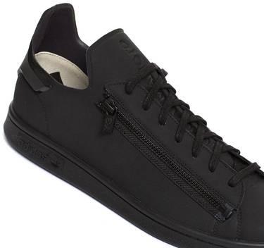 0813062a1a412 Y-3 Stan Smith Zip  Black  - adidas - CG3207