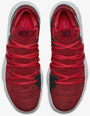 6ad04d79591f KD 10  Red Velvet  - Nike - 897815 600