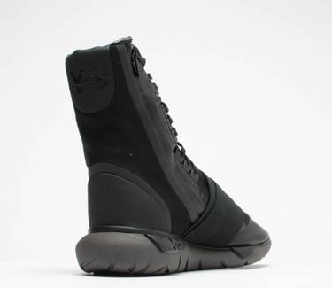 7fc11032d3b72 Y-3 Qasa Boot  Triple Black  - adidas - BY2629