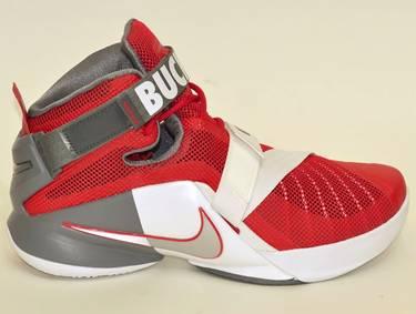 6dbe44fbade LeBron Soldier 9 Premium  Ohio State Buckeyes  - Nike - 749490 601 ...