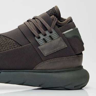 5b3469347814f Y-3 Qasa High  Triple Black  - adidas - CG3194