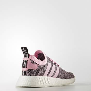fd957fe9d Wmns NMD R2 Primeknit  Wonder Pink . The women s NMD R2 Primeknit combines  two adidas ...