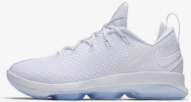 4988715f199 LeBron 14 Low  Ice  - Nike - 878636 101