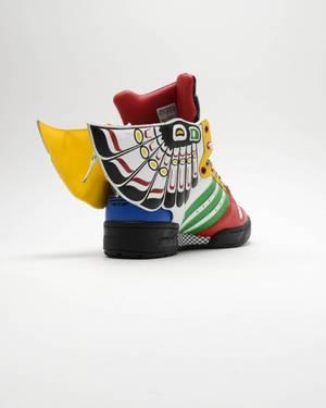 7014d2ddcf8d Jeremy Scott x Eagle Wing  Totem  - adidas - Q23171
