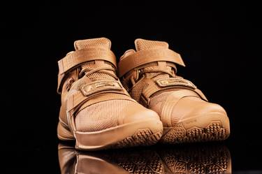 4428c9d2256 LeBron Soldier 9 Premium  Desert Camo  - Nike - 749490 222