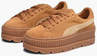 the best attitude a05a9 cebb6 Fenty x Wmns Cleated Creeper 'Golden Brown'