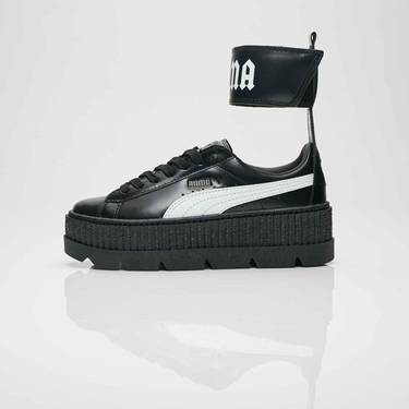 size 40 360cc 9b475 Fenty x Wmns Ankle Strap Creeper 'Black' - Puma - 366264 03 ...