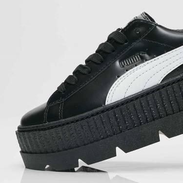 size 40 ce6cd 07489 Fenty x Wmns Ankle Strap Creeper 'Black' - Puma - 366264 03 ...
