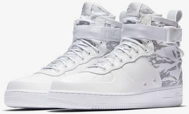 275bd283d0150 SF Air Force 1 Mid 'Winter Camo' - Nike - AA1129 100   GOAT