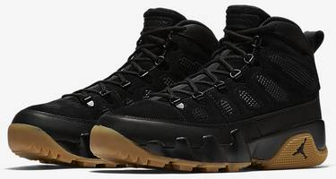 best website fb7f8 95c48 Air Jordan 9 Retro Boot NRG  Black Gum