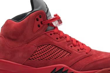 fde697986697 Air Jordan 5 Retro  Red Suede  - Air Jordan - 136027 602