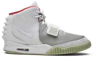 c92093cb3fd Air Yeezy 2 NRG  Pure Platinum  - Nike - 508214 010
