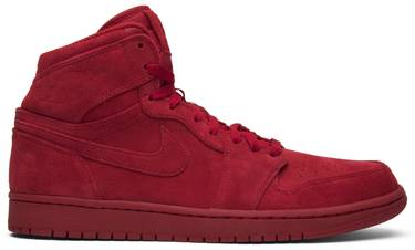 7513be9ab13a Air Jordan 1 Retro High  Red Suede  - Air Jordan - 332550 603