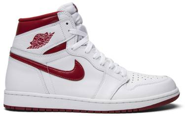 Air Jordan 1 Retro High OG  Metallic Red  - Air Jordan - 555088 103 ... 4e6d255ccb40