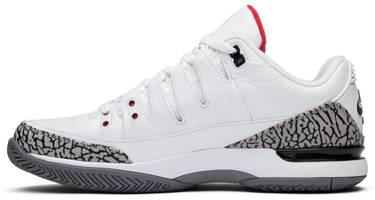 huge discount f3ea8 35a82 Zoom Vapor Tour AJ3 'White Cement'