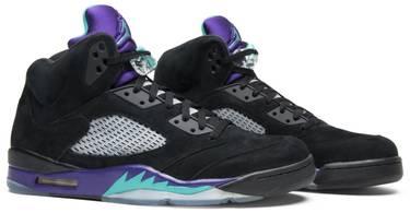 premium selection 2229c a0698 Air Jordan 5 Retro  Black Grape
