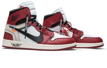 on sale 9fae1 f56b3 OFF-WHITE x Air Jordan 1 Retro High OG 'Chicago'