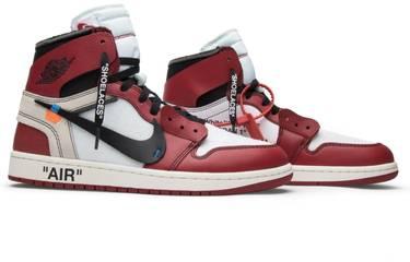 on sale 1e415 c7868 OFF-WHITE x Air Jordan 1 Retro High OG 'Chicago'