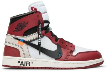 hot sale online b3c92 50a89 OFF-WHITE x Air Jordan 1 Retro High OG  Chicago