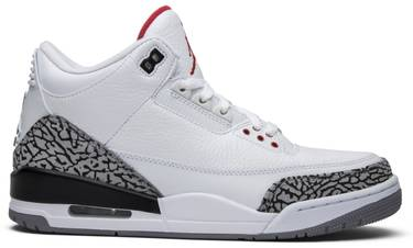 huge selection of 2126e e5efb Air Jordan 3 Retro 'White Cement' 2011