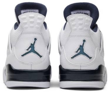 3b5c1d636c7 Air Jordan 4 Retro LS 'Legend Blue' - Air Jordan - 314254 107 | GOAT
