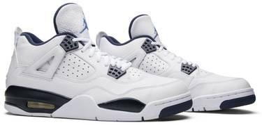 lowest price 64be9 f4ff9 Air Jordan 4 Retro LS  Legend Blue . Released in January of 2015 ...