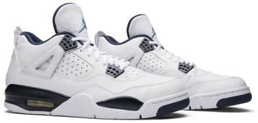 info for 54939 00251 Air Jordan 4 Retro LS 'Legend Blue'