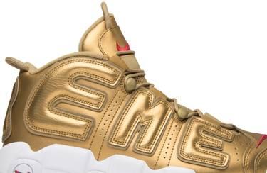 53c7712dd5354 Supreme x Air More Uptempo  Metallic Gold  - Nike - 902290 700