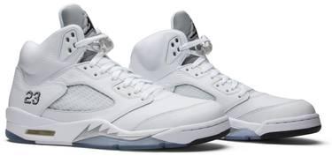 de0b4444603 Air Jordan 5 Retro 'Metallic White' 2015 - Air Jordan - 136027 130 ...