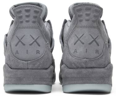 279c27d2291 KAWS x Air Jordan 4 Retro 'Cool Grey' - Air Jordan - 930155 003 | GOAT