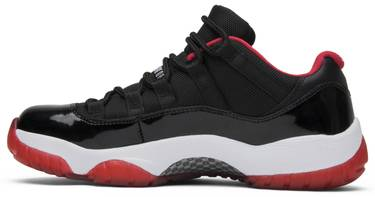 bb60c909ad1 Air Jordan 11 Retro Low 'Bred' - Air Jordan - 528895 012 | GOAT