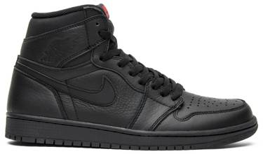 7ab941a69847 Air Jordan 1 Retro High OG  Triple Black  - Air Jordan - 555088 022 ...
