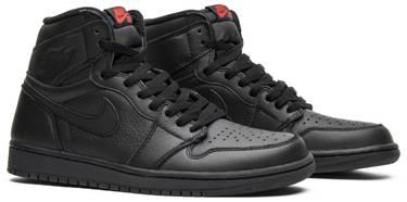 best sneakers 8c396 1dc7f Air Jordan 1 Retro High OG 'Triple Black'