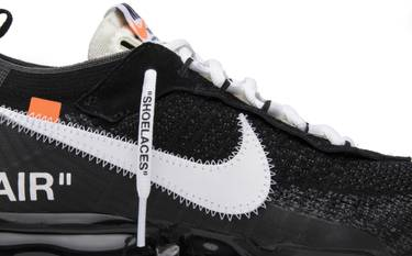 f00a080534 OFF-WHITE x Air VaporMax 'The Ten' - Nike - AA3831 001 | GOAT