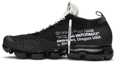 30fc00453b449d OFF-WHITE x Air VaporMax  The Ten  - Nike - AA3831 001