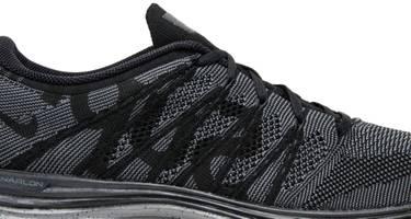 779e6b16f434b Supreme x Flyknit Lunar1+  Black  - Nike - 623823 001
