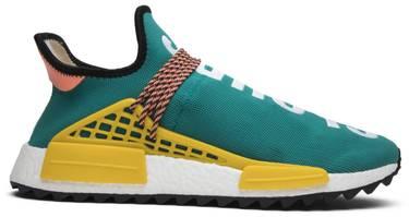 2194204d87215 Pharrell x NMD Human Race Trail  Sun Glow  - adidas - AC7188