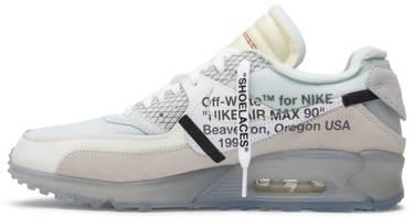 online store 20564 86b8d OFF-WHITE x Air Max 90 'The Ten'