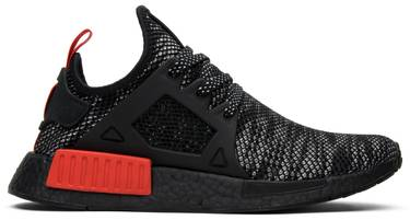 0b8ed0400 NMD XR1 Primeknit  Bred . The NMD XR1 emerges with a black and red ...
