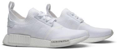 online store f06bd 32de2 NMD_R1 Primeknit 'Japan Triple White'