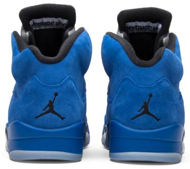 huge discount 48a48 b7b2c Air Jordan 5 Retro 'Blue Suede'