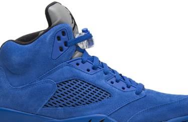 sale retailer 8900c 39b1c Air Jordan 5 Retro  Blue Suede