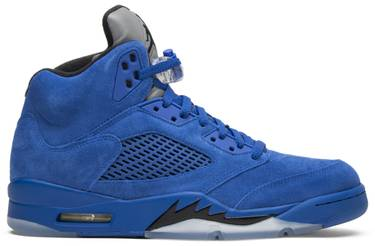 460a454bd00465 Air Jordan 5 Retro  Blue Suede  - Air Jordan - 136027 401
