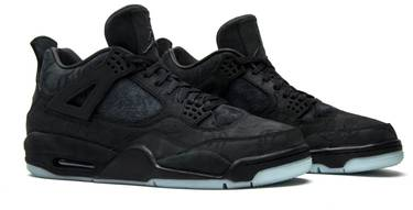 innovative design a8c87 6544f KAWS x Air Jordan 4 Retro 'Black'
