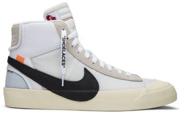 OFF-WHITE x Blazer Mid. Virgil Abloh s Nike ... d89b96f47