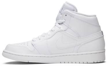 premium selection a5501 67ca3 Air Jordan 1 Retro Mid 'Triple White'