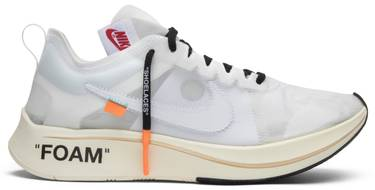 00d729ef3bdf OFF-WHITE x Zoom Fly SP  The Ten  - Nike - AJ4588 100