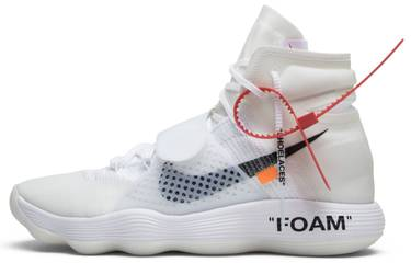 cc8aabb41173f OFF-WHITE x Hyperdunk 2017 Flyknit 'The Ten' - Nike - AJ4578 100 | GOAT